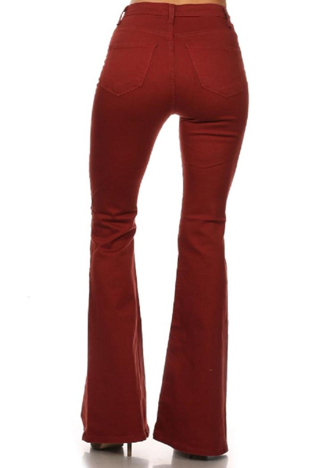 Vibrant MIU Bell Bottom Jeans From Missouri By Domi More Shoptiques