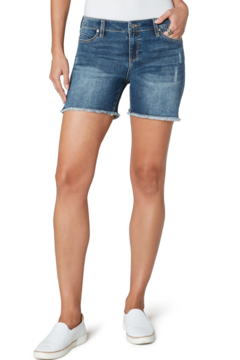 Liverpool  VICKIE FRAY HEM SHORT - Product List Image