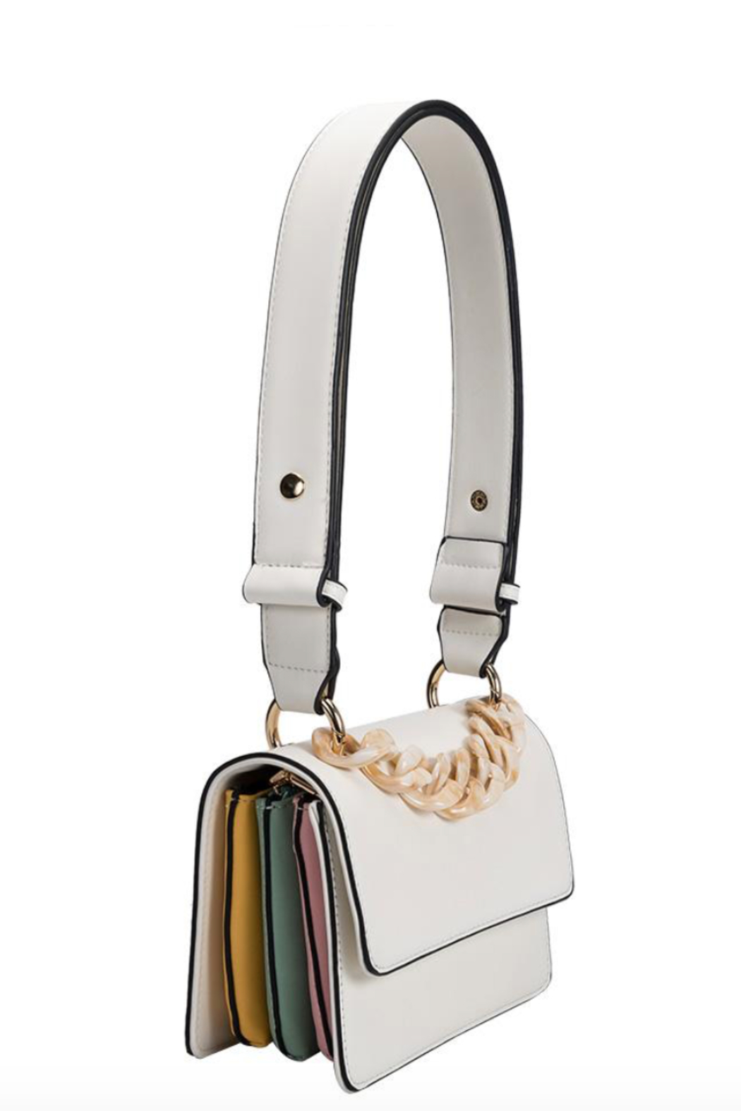 Melie Bianco Vicky Shoulder Bag - Front Full Image