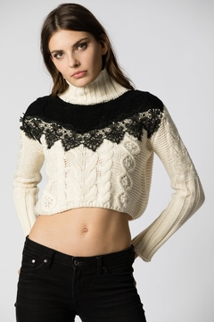 Haute Rogue Vicky Turtleneck Sweater - Product List Image