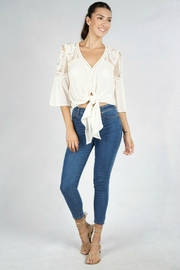 Lovestitch VICTORIA BLOUSE NATURAL - Other