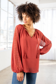 Lovestitch Victoria Blouse - Front full body