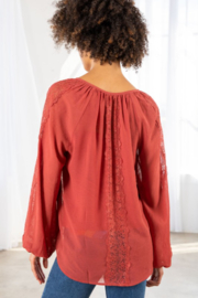 Lovestitch Victoria Blouse - Back cropped