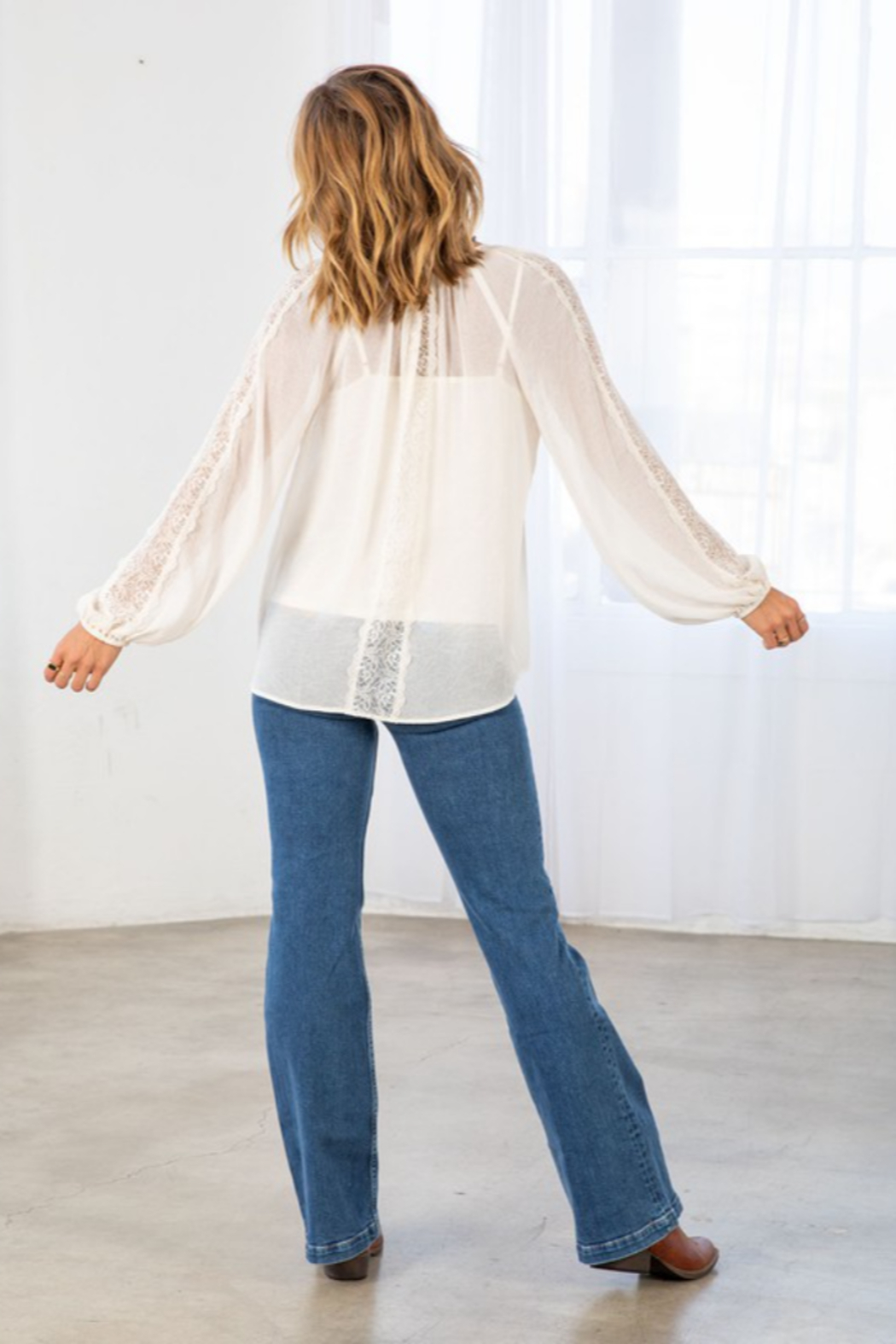 Lovestitch Victoria Blouse - Back Cropped Image