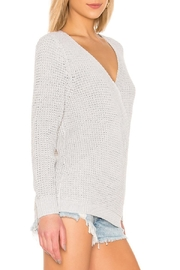 Mink Pink Victoria Cross-Over Sweater - Front full body