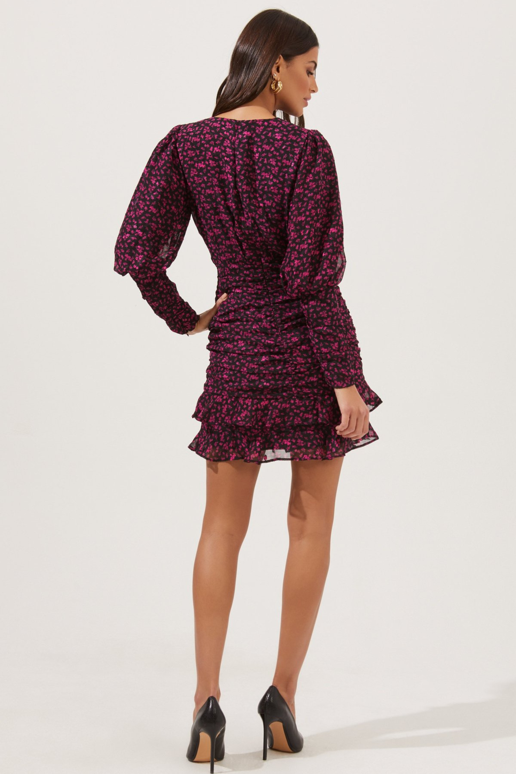 ASTR the Label Claremore Dress - Back Cropped Image