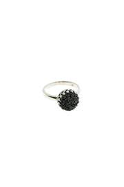 Victoria Greenhood Jewelry Design Black Druzy Ring - Product Mini Image