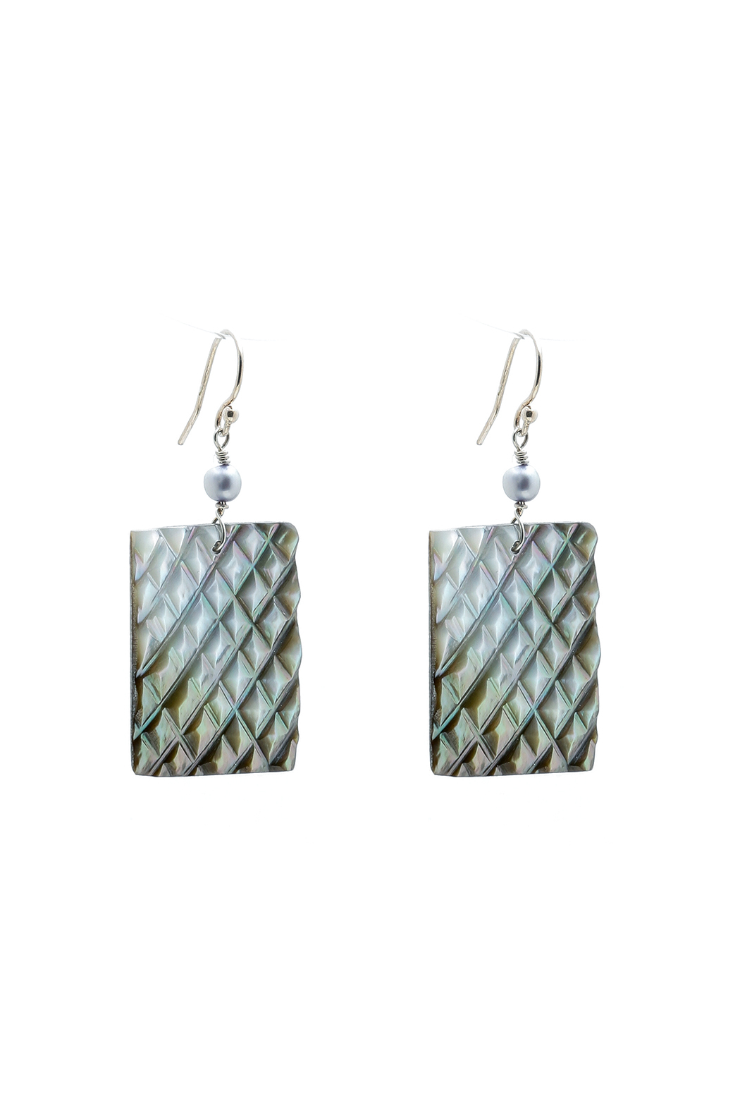 Victoria Greenhood Jewelry Design Oyster Shell Earrings - Main Image