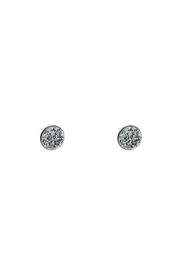 Victoria Greenhood Jewelry Design Silver Druzy Studs - Product Mini Image
