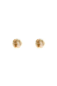 Shoptiques Product: Small Peach Pearl Studs