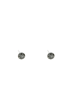 Shoptiques Product: Small Silver Druzy Studs