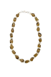 Victoria Greenhood Jewelry Design Smoky Topaz Necklace - Product Mini Image