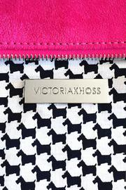 Victoria Khoss Pink Scottie Foldover - Side cropped