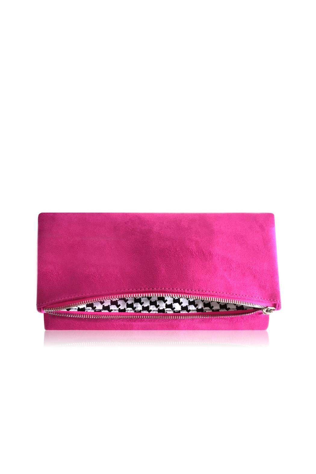 Victoria Khoss Pink Scottie Foldover - Main Image