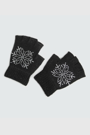 Victoria Leland Designs Fingerless Black Gloves - Product Mini Image