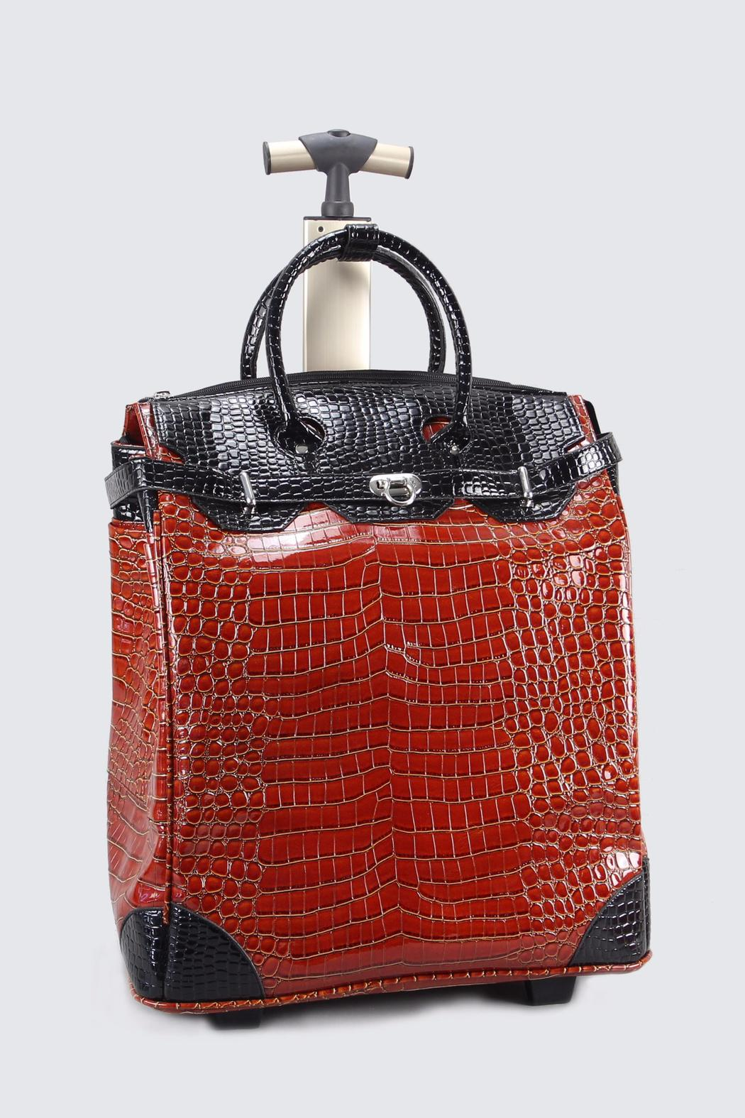 Victoria Leland Designs Leather Rolly Bag Front Cropped Image