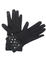 Victoria Leland Designs Pearl Texting Gloves - Product Mini Image