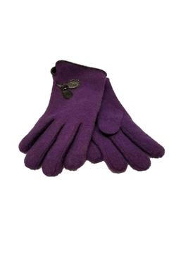 Shoptiques Product: Purple Gloves