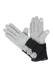 Victoria Leland Designs Wool Texting Gloves - Front cropped