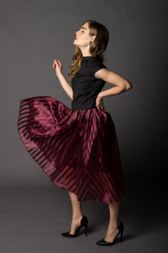 Victoria Wright Grace Organza Skirt - Alternate List Image