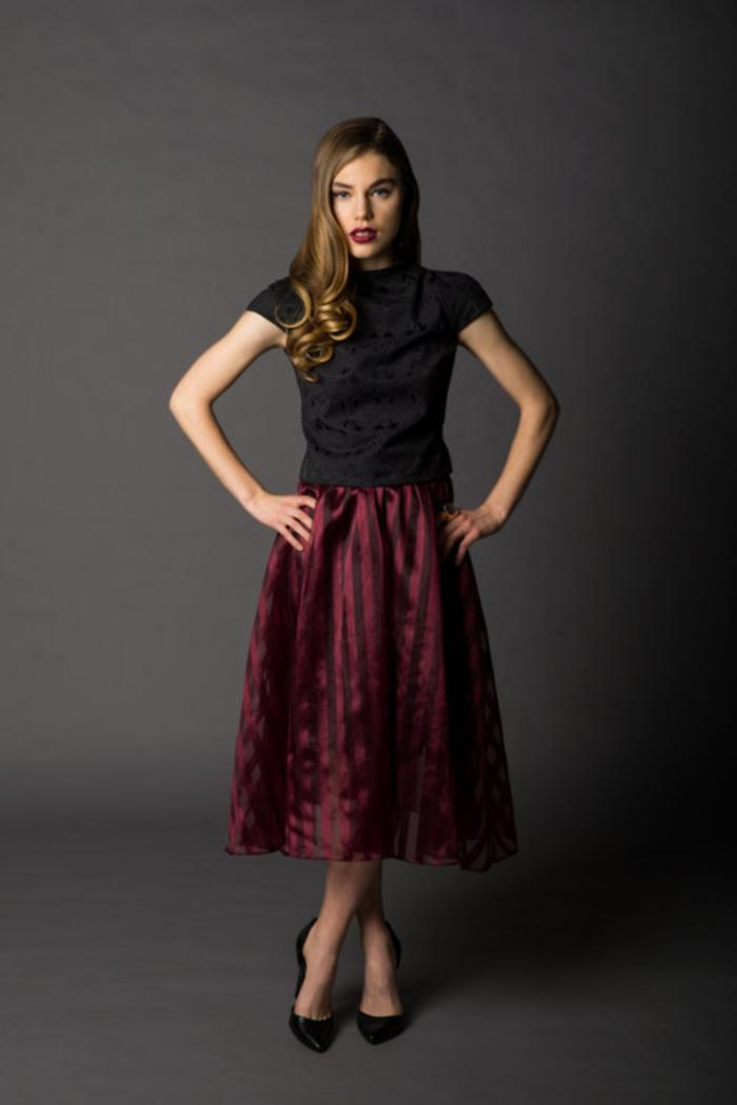 Victoria Wright Grace Organza Skirt - Main Image