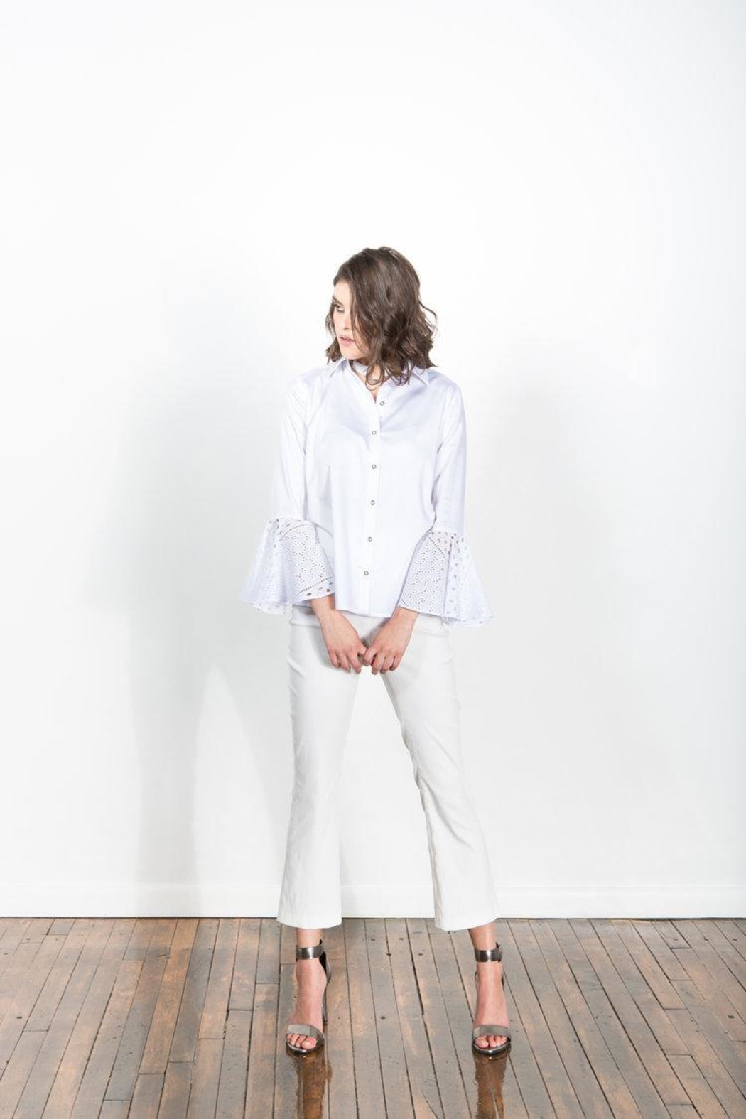 Victoria Wright Rochelle Pant - Side Cropped Image