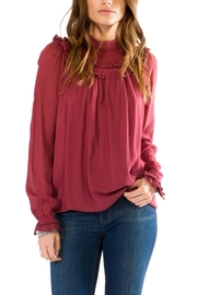 Anama Victorian High-Neck Blouse - Product Mini Image