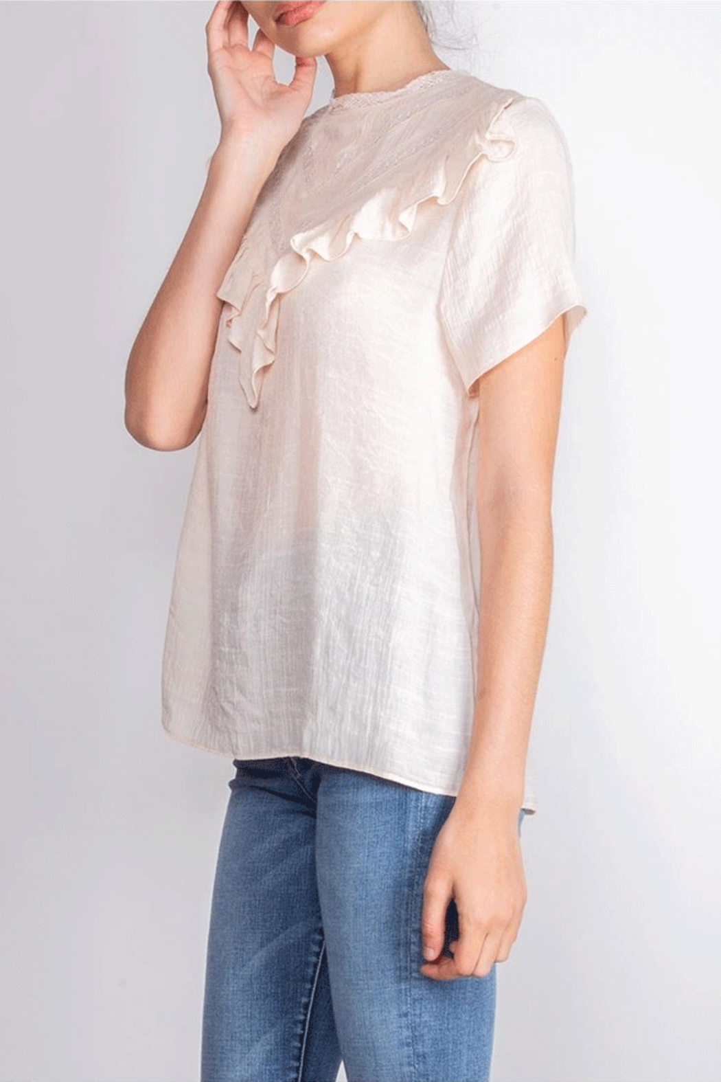 Le Lis Victorian Inspired Blouse - Front Full Image