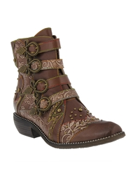 Spring Footwear Victorian Western Bootie - Product Mini Image