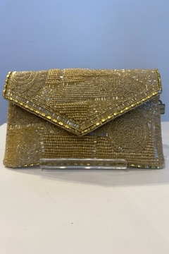 Mary Frances Victory Gold Bag - Product List Image
