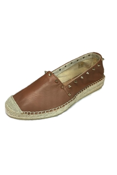 Shoptiques Product: Brown Studded Espadrilles