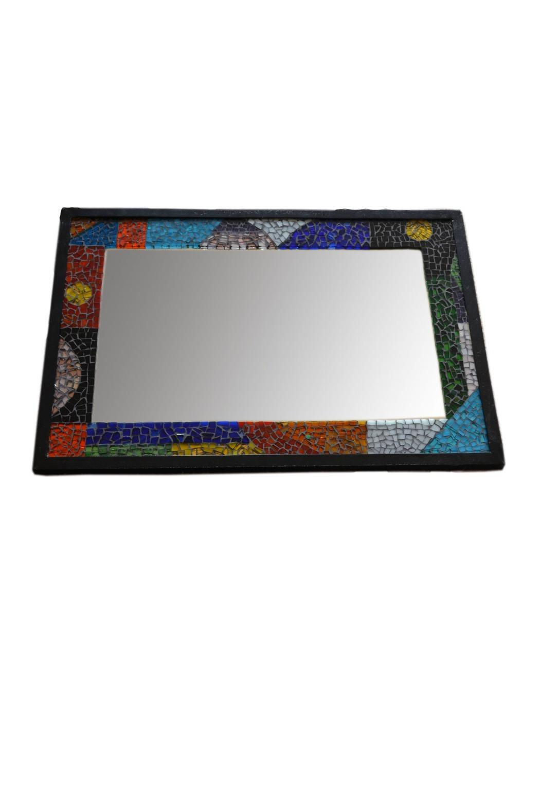 VidriArte Mosaic Glass Mirror - Front Cropped Image