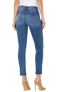 Numero Denim Vienna Crop Stud Hem Jean - Alternate List Image
