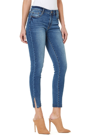 Numero Denim Vienna Crop Stud Hem Jean - Product Mini Image