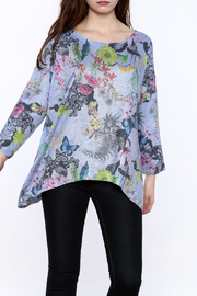 Viereck Butterfly Print Top - Product Mini Image
