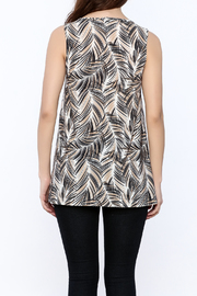 Viereck Harrison Print Top - Back cropped