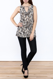 Viereck Harrison Print Top - Front full body