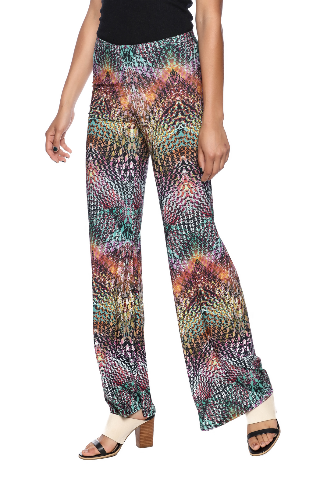 Viereck Serrano Bell-Bottoms - Front Cropped Image
