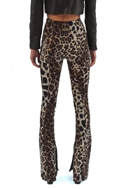 Viesca y Viesca Animal Print Pants - Side cropped