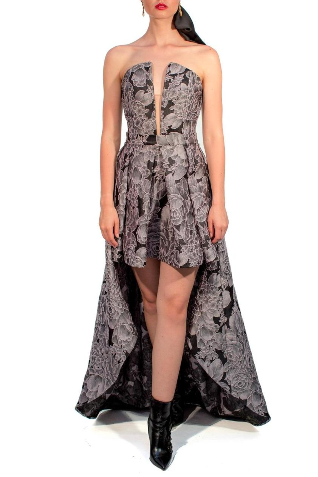 Viesca y Viesca Asimetric Corset Gown from Mexico — Shoptiques