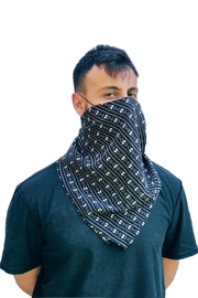 Viesca y Viesca Black Scarf Mask - Product Mini Image