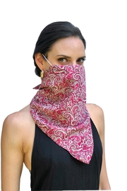 Viesca y Viesca Bohemian Scarf Mask - Front cropped