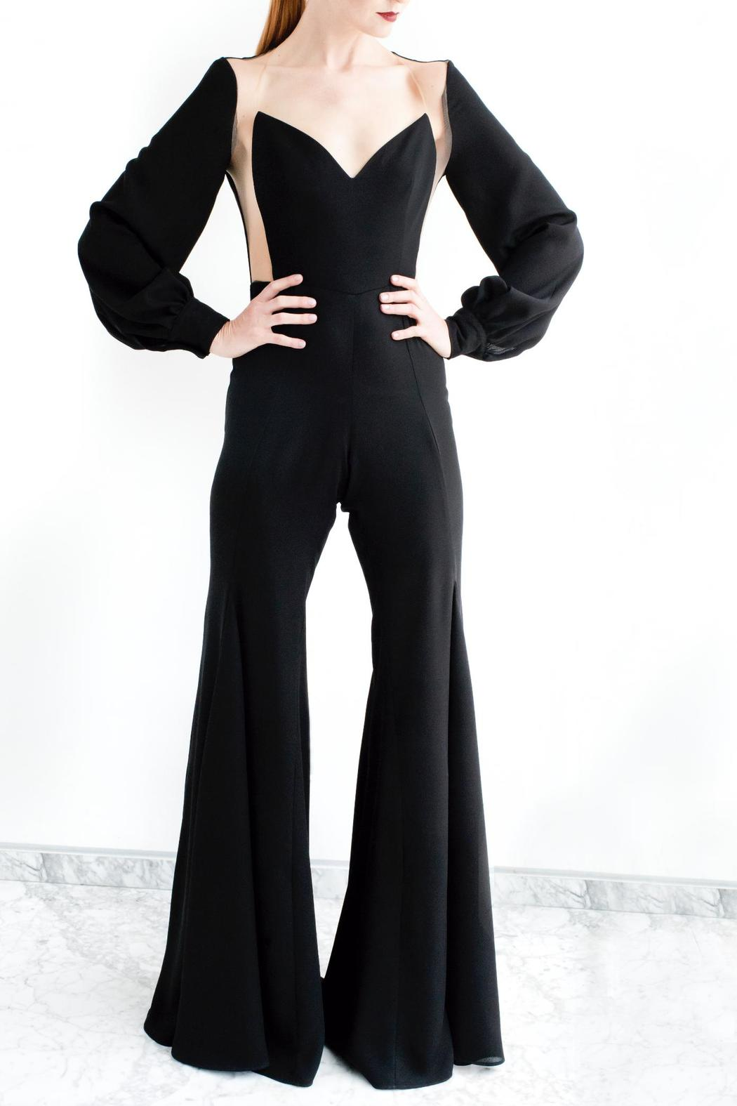 Viesca y Viesca Cut Out Jumpsuit - Main Image