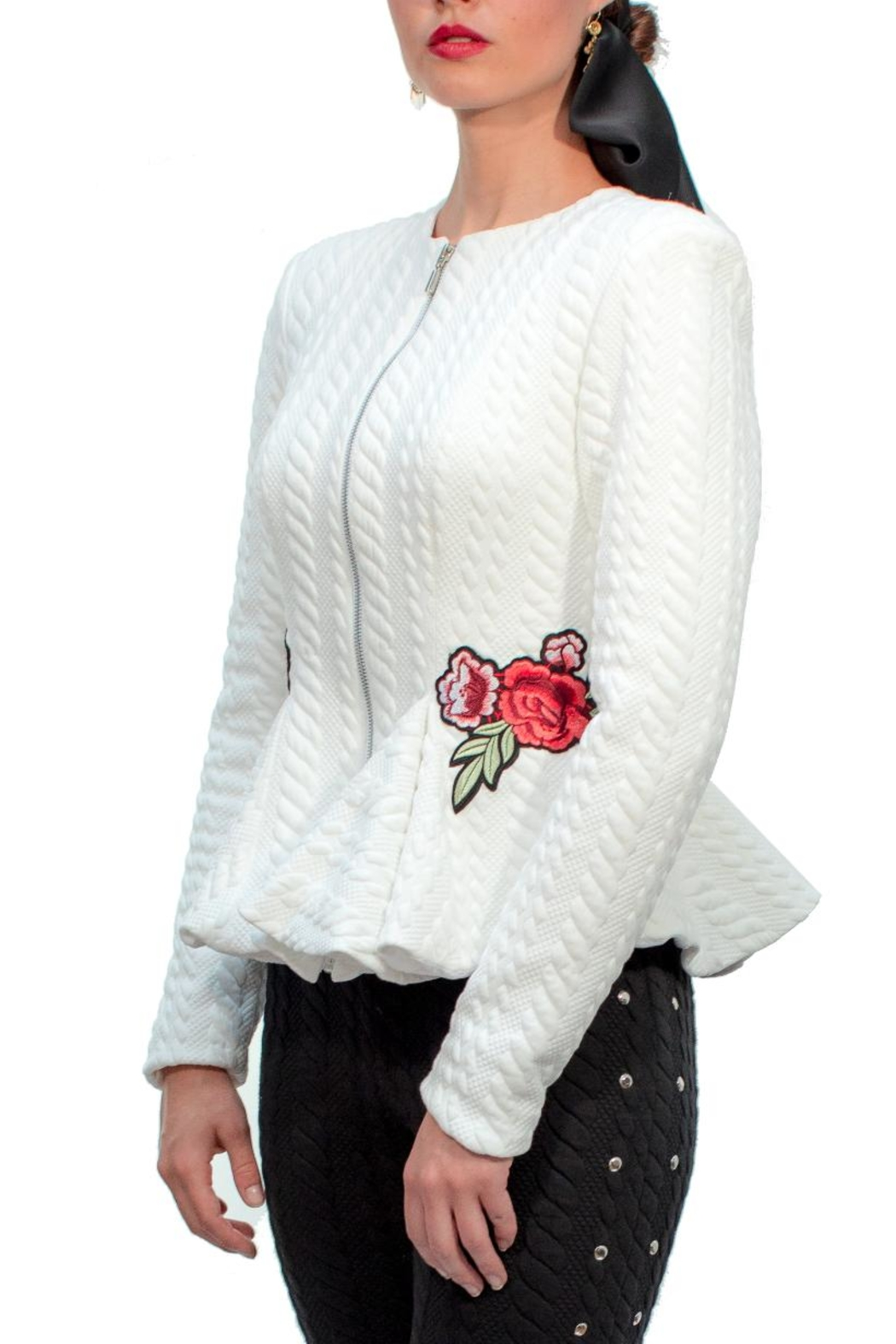 e2122253637 Viesca y Viesca Embroidered Jacket from Mexico — Shoptiques