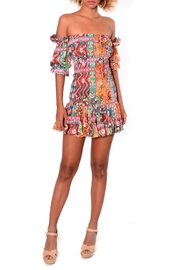 Viesca y Viesca Fitted Mini Dress - Product Mini Image
