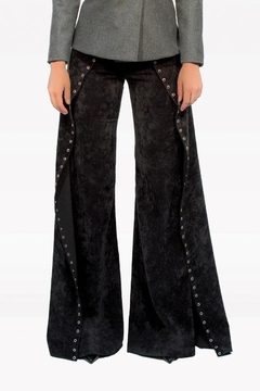 Viesca y Viesca Flared Studed Pants - Product List Image