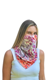 Viesca y Viesca Floral Scarf Mask - Product Mini Image