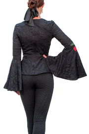 Viesca y Viesca Lace Embroided Blouse - Front full body
