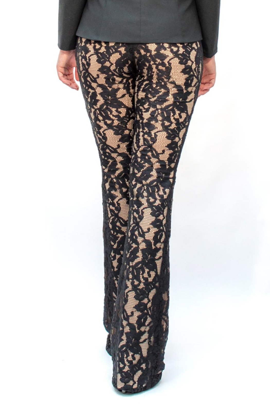 Viesca y Viesca Lace Pants - Front Full Image