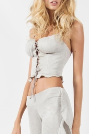 Viesca y Viesca Lace Up Bustier - Product Mini Image